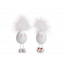 Poly tojás, fém láb fehér - 2 szer szortírozott ki