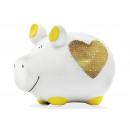 Money box KCG small pig, Heart of Gold Art. 1016