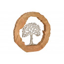 Espositore Albero in metallo in legno di mango Kre