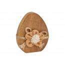 Display Mangó fa tojás, juta virág dekor sör