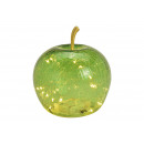 groothandel Kunstbloemen: Appel met 20 LED's van lichtgroen glas (B ...