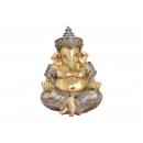 Ganesha poli pezsgőből (Szé / Ma / Mé) 16x21x16cm