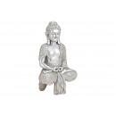 Buddha realizzato in poli argento (L / A / P) 23x3