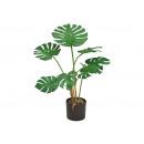 Pianta artificiale Splitphilopplant Monstera Green