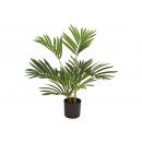 groothandel Kunstbloemen: Kunstplant varen palm groen (h) 65cm