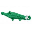 Kutyajáték pamut kötélből - Kalli Krokodil, G.