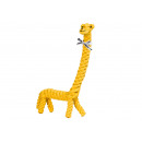 Pamut kötélből készült kutyajáték - Greta Giraffe,