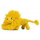 Kutya játék pamut kötélből - Oroszlánfóka, sárga,