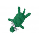 Pamut kötél kutyajáték - Tina teknős, zöld