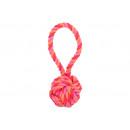 Kutya játék pamut kötélből - mini parittya