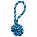 Gioco per cani in corda di cotone - mini sling bal