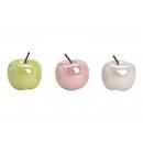 grossiste Maison et habitat: Céramique vert pomme, rose, blanc 3- fois assorti
