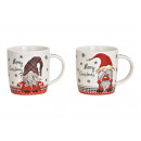 groothandel Woondecoratie: Mok Kerstdecor, Gnome, Merry Christmas a