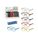 groothandel Leesbrillen en accessoires: Leeshulp Elegant met etui, met scharnier van kunst