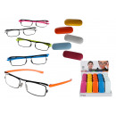 wholesale Reading Glasses: Reading aid Color Style, with plastic frame, 5 pag