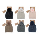hurtownia Fashion & Moda: Dzianinowa czapka Alpaca Touch, 70% akryl, 30% pol