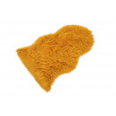 Pelliccia ecologica gialla (L/A) 90x60cm