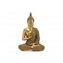 Buddha realizzato in polioro (L / A / P) 34x49x22