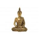 Buddha realizzato in polioro (L/A/P) 13x19x9cm