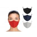 Maschera per bocca e naso in polietilene multicolo