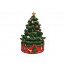 Albero di Natale in policolore (L/A/P) 12x18x12