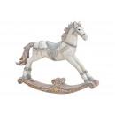 groothandel Speelgoed: Hobbelpaard gemaakt van poly wit (B/H/D) ...