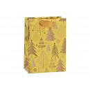 Sacchetto regalo Decoro albero di Natale in carta/