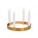 Corona di Adents, portacandele per 4 candele in me