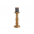 Candle holder made of mango wood brown (W / H / D)