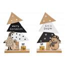 Espositore Albero di Natale, Babbo Natale, decoraz