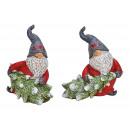 Pixie karácsonyfával, poli vörösből, kétszeres vál
