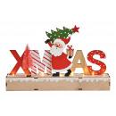 Espositore Lettering, Natale, decoro Nikolaus con