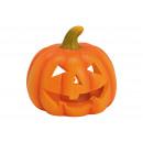 Lantern pumpkin made of magnesia orange (W / H / D