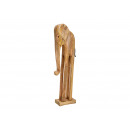 Espositore Elefante in legno di mango naturale (L
