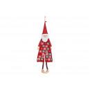 Advent calendar Santa Claus, made of felt / textil
