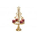 nagyker Dekoráció: Tealight tartó, karácsonyi elrendezésű ...