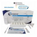 Test rapido dell'antigene, test della saliva,