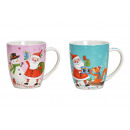 Tazza di porcellana Nikolaus decor Colorato a 2 pi