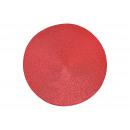 Tovaglietta in plastica rossa Ø38cm