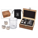 wholesale Household & Kitchen: Whiskey Ice Cube Set of stainless steel, 2,7cm, 4