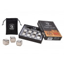 wholesale Household & Kitchen: Whiskey Ice Cube Set made of stainless steel, 2.7