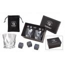 Set di pietre di whisky, pietra di basalto gallese