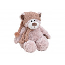 wholesale Dolls &Plush: Plush Bear with Scarf / Hat Pink / Pink (B / H / D