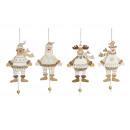 Znaki Boże Narodzenie marionetką drewna, 4-Sor