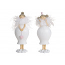 Angelo realizzato in poly, spring decor Bianco (B