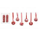 Natale campane-set, 24 pezzi, B3 cm