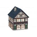 Szél könnyű ház a régi tölgyfa Bergisch Gladb