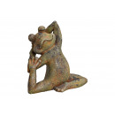 Yoga Frog of Magnesia Antique Green (B / H / D) 32