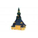 Church Seiffen / Erzgebirge porcelán, B17 x