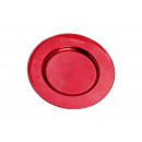 piatti di plastica rossa, B17 cm